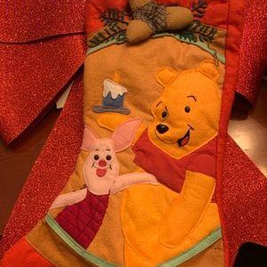 Vintage Winnie the Pooh Stocking